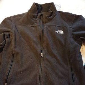 The north face windwall zip up jacket